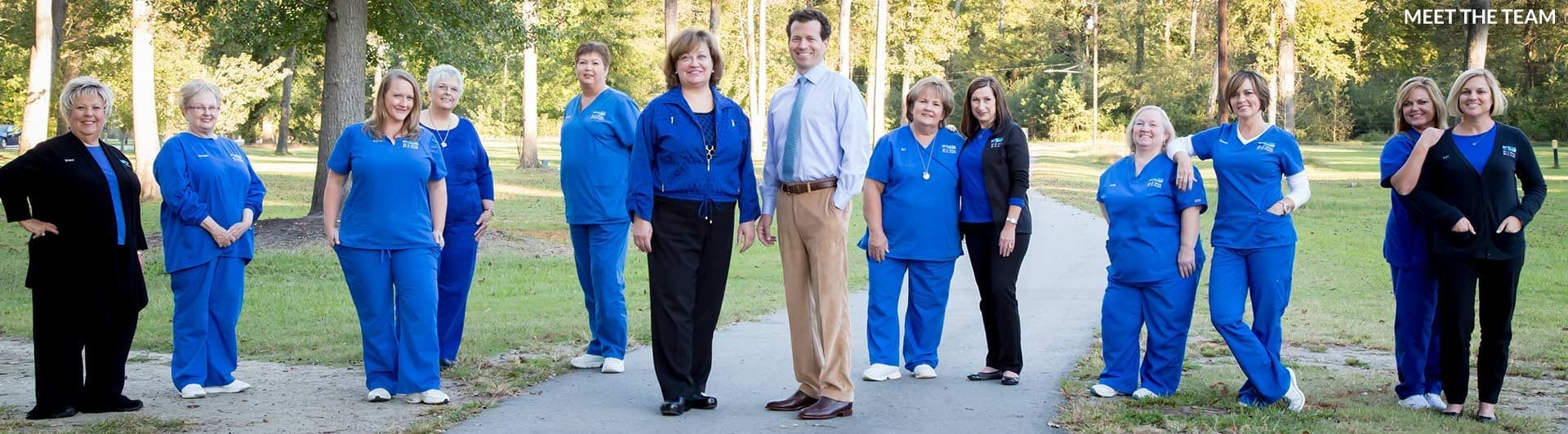 The Team Potts Orthodontics in Clinton and Goldsboro, NC